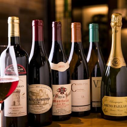赤ふじのワイン